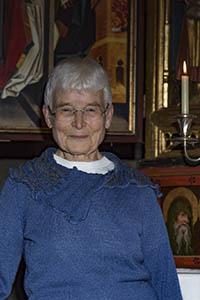 Dr. Elisabetz Claus, die Schwester der Autorin