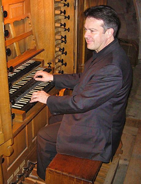 Daniel Maurer, Professeur d'orgue et d'Improvisation am Conservatoire in Strasbourg.